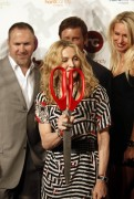 Madonna at the opening of the first Hard Candy Fitness Center in Mexico, November 29, 2010