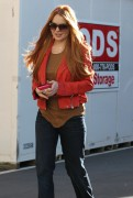 Линдси Лохан, фото 23089. Lindsay Lohan - out and about in Beverly Hills 03/08/12, foto 23089
