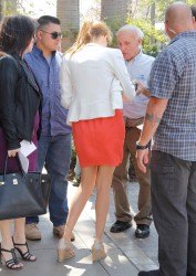 Maggie Grace - Set of Extra @ The Grove, L.A.  - April 10 2012