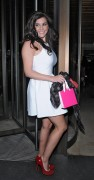 Imogen Thomas Leaving Novikov Restaurant in London 14th April x9