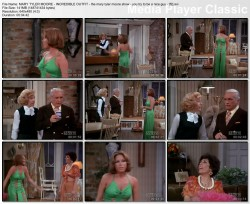 "MARY TYLER MOORE wow - The Mary Tyler Moore Show - ""You Try to be a Nice Guy"" - *revealing dress and panties*"
