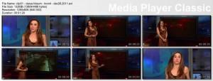 DARYA FOLSOM - kron4 newsbabe - december 26, 2011
