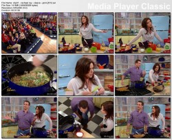 RACHAEL RAY - January 4, 2012 - *cleave peeks*