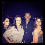 Selena Gomez, JoJo Levesque, and Francia Raisa at a Friend's Birthday Party - June 5, 2012