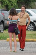 Shenae Grimes - on the set of  Empire State in New Orleans 06/07/12