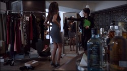 Stephanie Fantauzzi - Trying on Dresses on Shameless episode